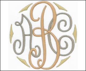 Royal Monogram Set